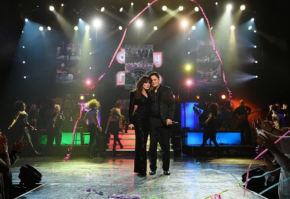 Donny & Marie Osmond during their final performance in Las Vegas on November 16, 2019 | Photo: Getty Images