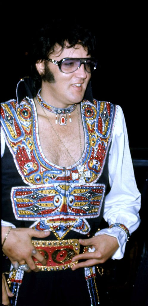 Elvis Presley at the Hilton Hotel, Hartford in Connecticut   Photo: Getty Images