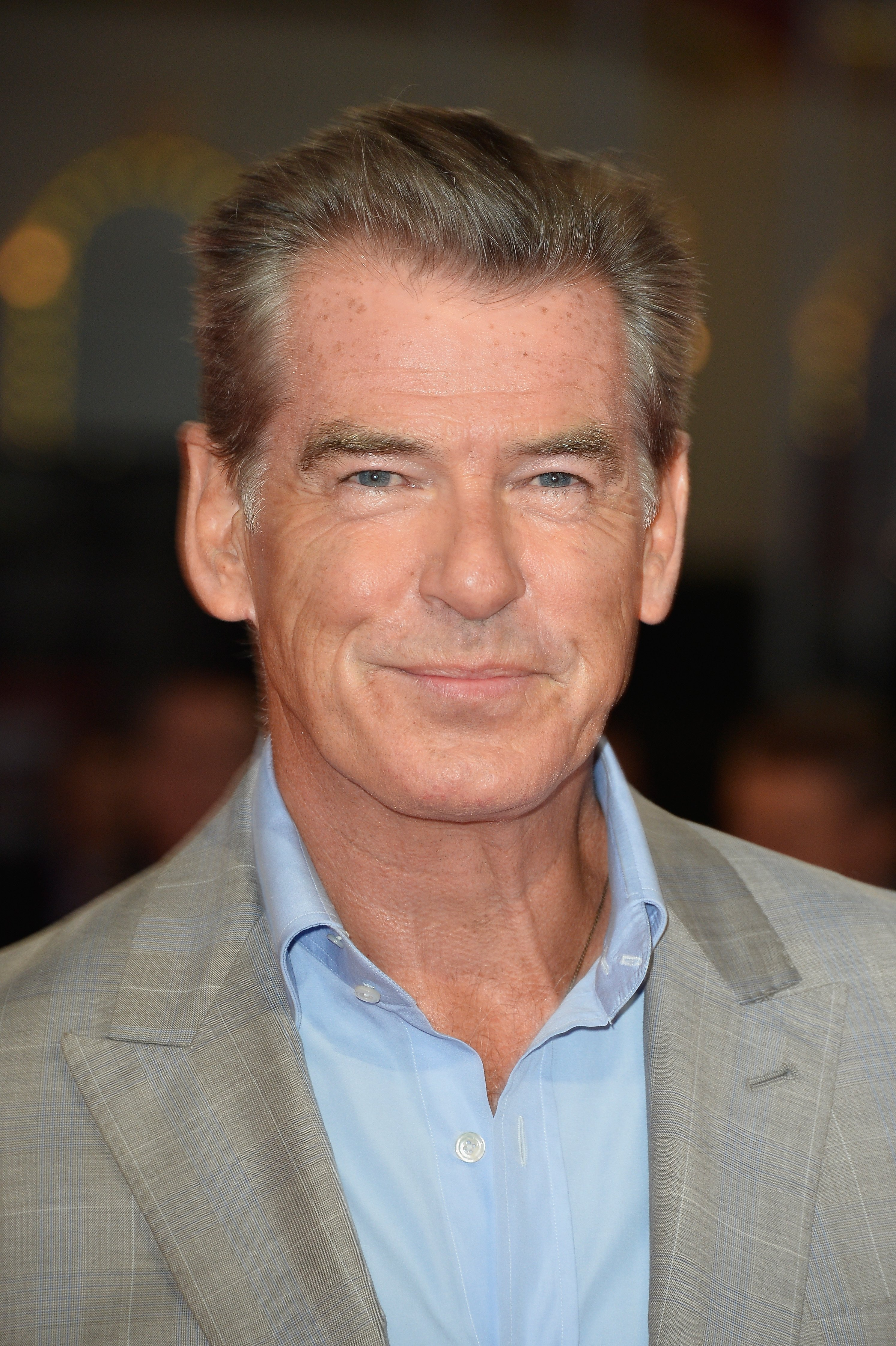 Pierce Brosnam attends the 'Pasolini' premiere on September 11, 2014 in Deauville, France. | Photo: GettyImages