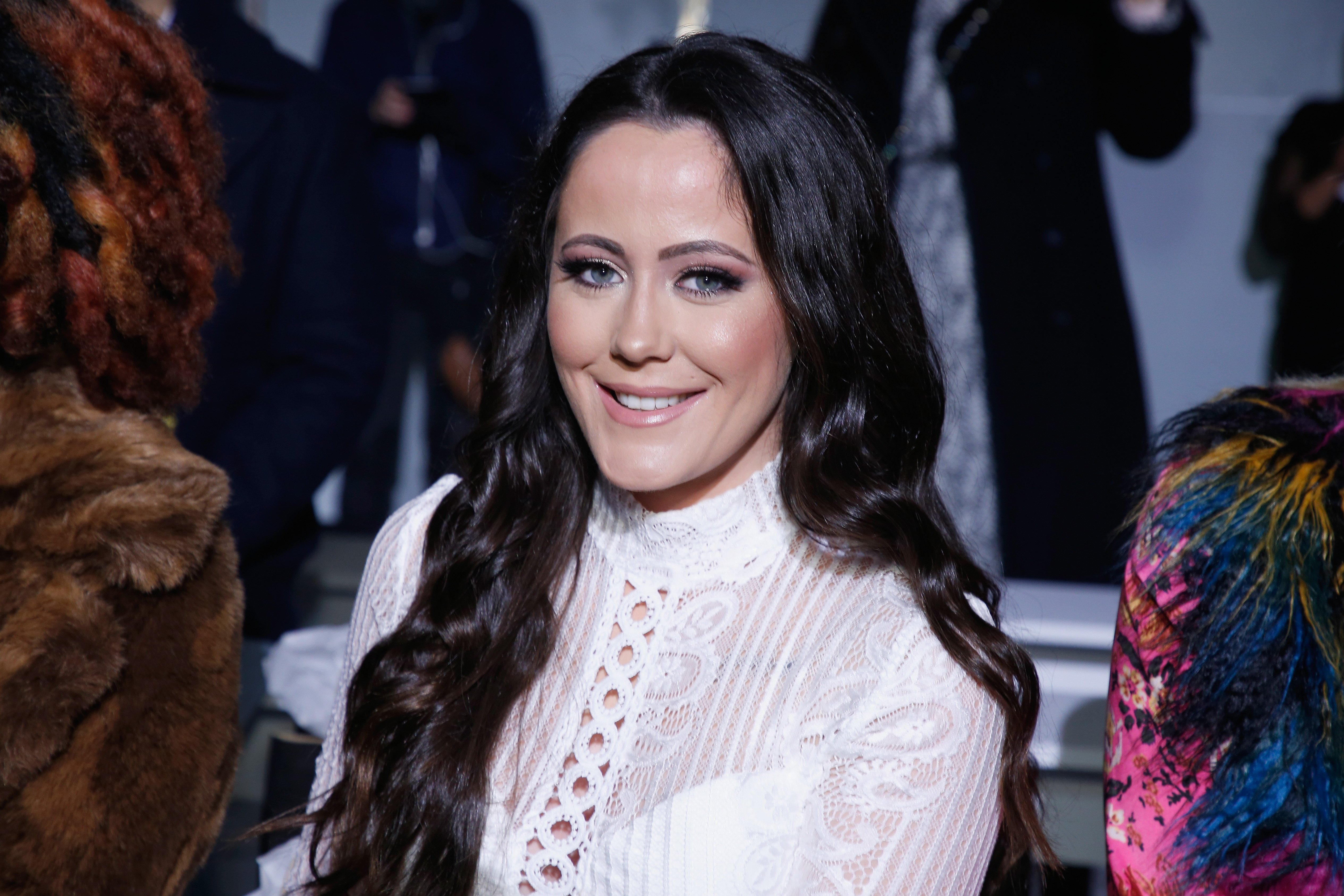 Jenelle Evans attends the Indonesian Diversity FW19 Collections: 2Madison Avenue at New York Fashion Week on February 7, 2019 in New York City | Photo: Getty Images