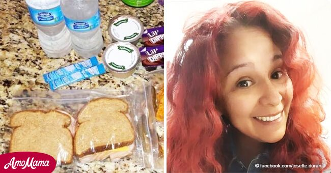 Inspiradora historia de una madre cuyo hijo le pidió que preparara dos almuerzos para la escuela