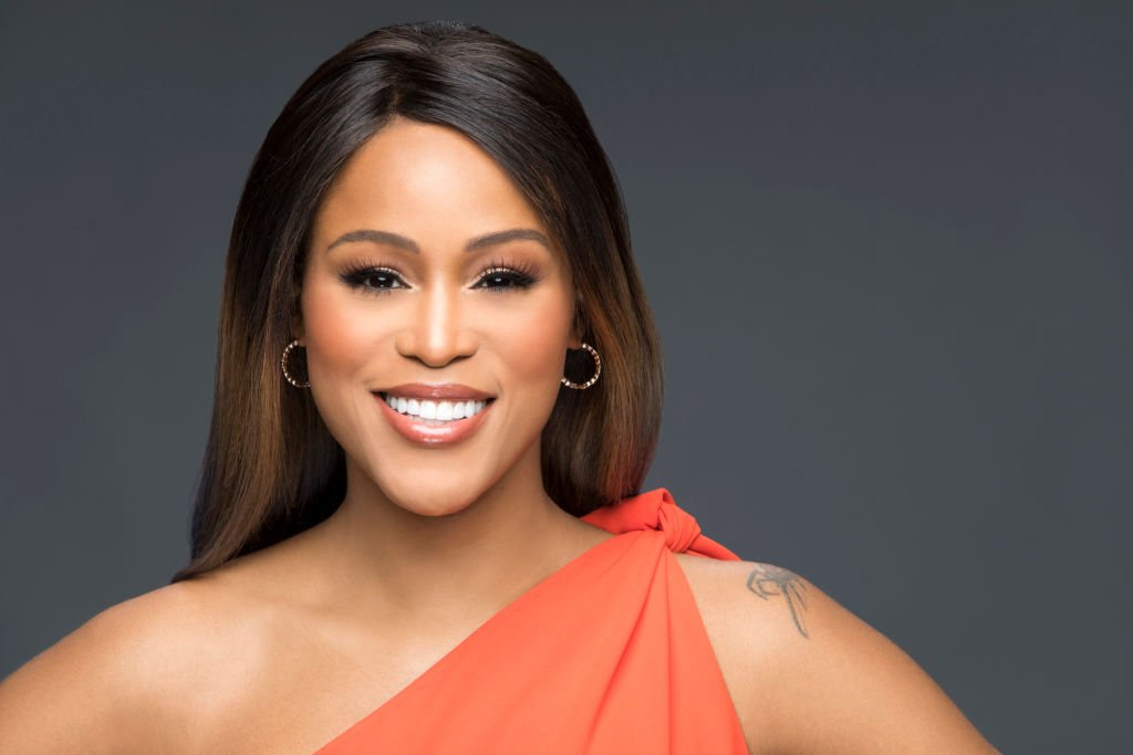 """Rapper Eve Jeffers Cooper's 2017 portrait shoot after being announced as the new host of """"The Talk"""" in Los Angeles. 