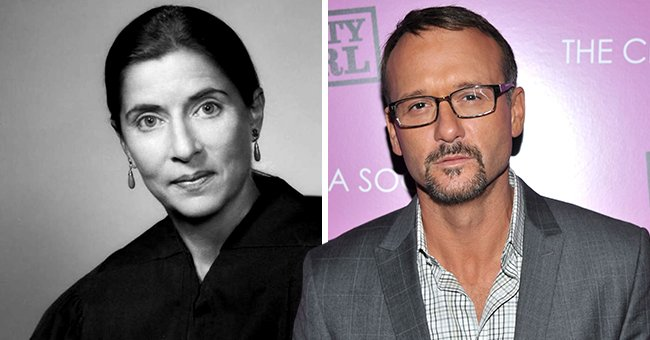 Tim McGraw Honors Ruth Bader Ginsburg & Shares Gorgeous Old Photo of Late Supreme Court Justice