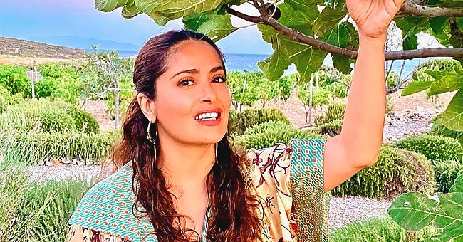 54-Year-Old Salma Hayek Flaunts Her Ageless Beauty in a New Photos She Shared on Instagram