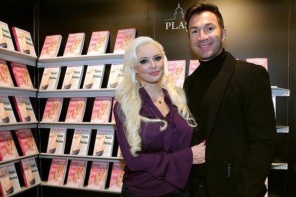 Daniela Katzenberger und Lucas Cordalis, Frankfurt am Main, Buchmesse , 2016 | Quelle: Getty Images