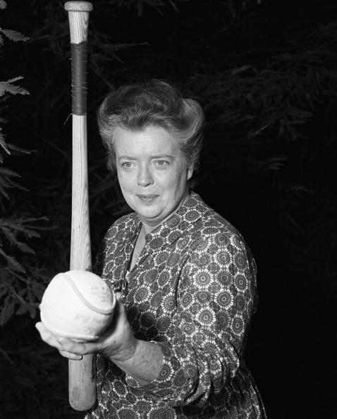 "Frances Bavier as Aunt Bee Taylor in Season 1 opening of ""The Andy Griffith Show."" Image dated July 26, 1960. 