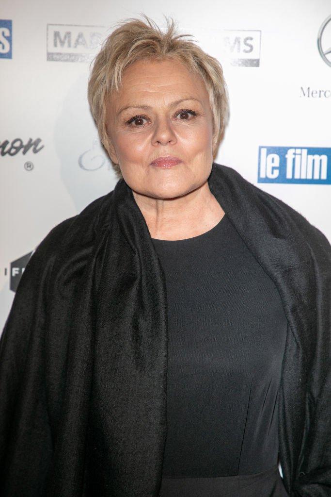 Muriel Robin en février 2019. Photo : Getty Images
