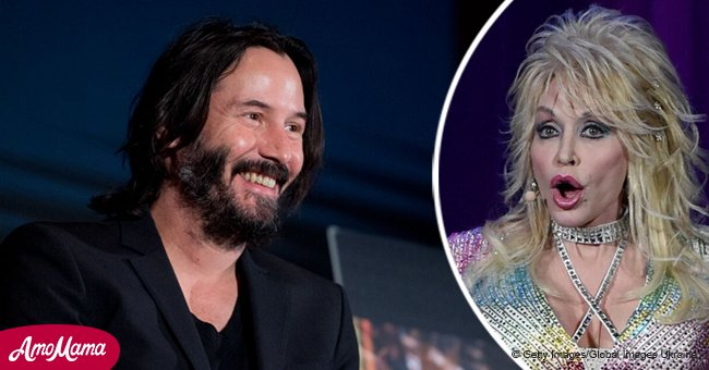 Keanu Reeves admits to wearing Dolly Parton's racy Playboy outfit in a hilarious interview