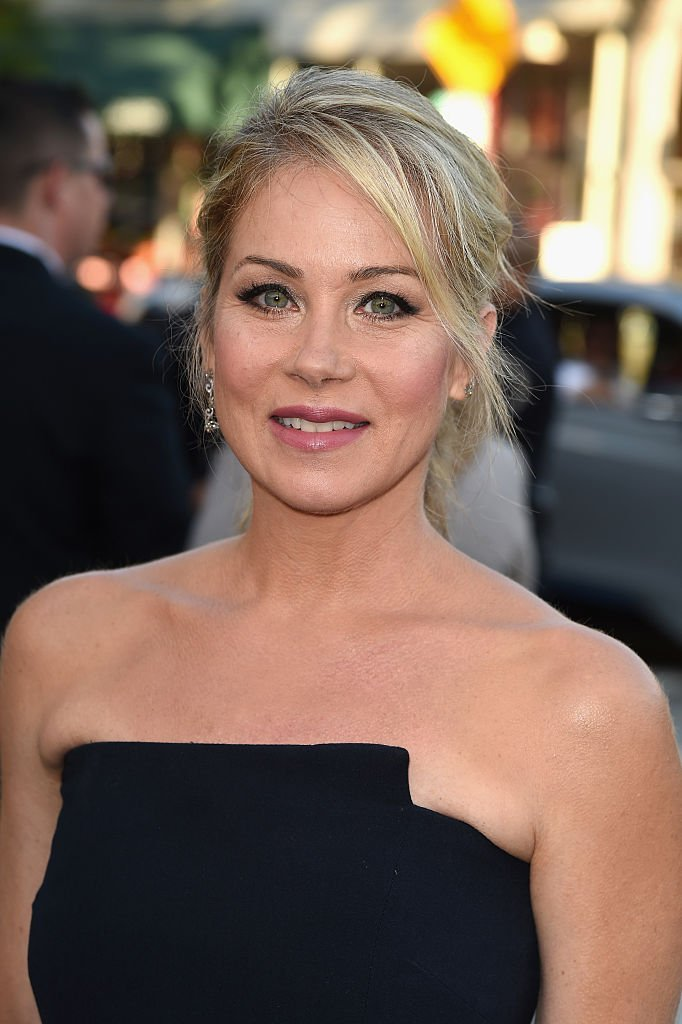"""Christina Applegate attends the premiere of Warner Bros. Pictures """"Vacation"""" at Regency Village Theatre on July 27, 2015, in Westwood, California. 