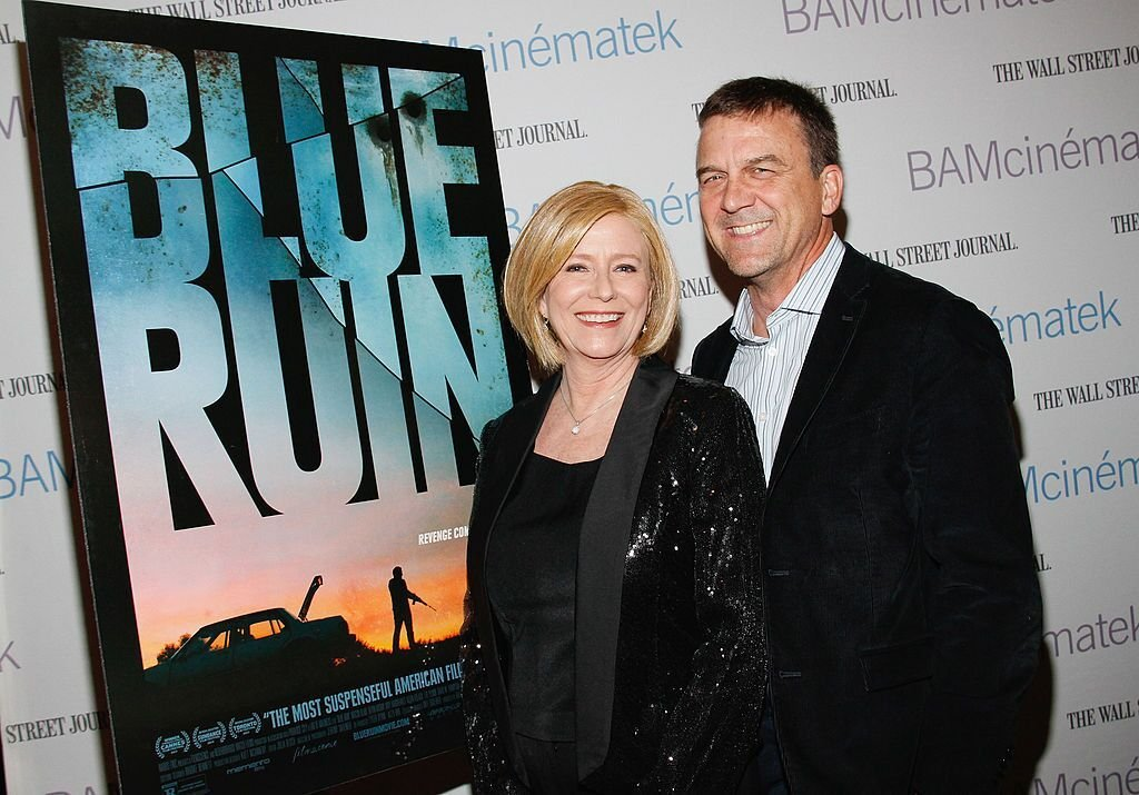 "Eve Plumb and husband Ken Pace attend the New York Premiere of RADiUS-TWC's ""BLUE RUIN"" 