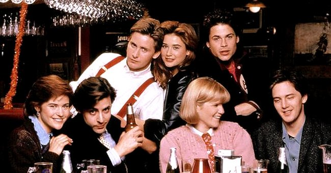 Rob Lowe and Other 'St Elmo's Fire' Cast Members 35 Years after the Movie's Release