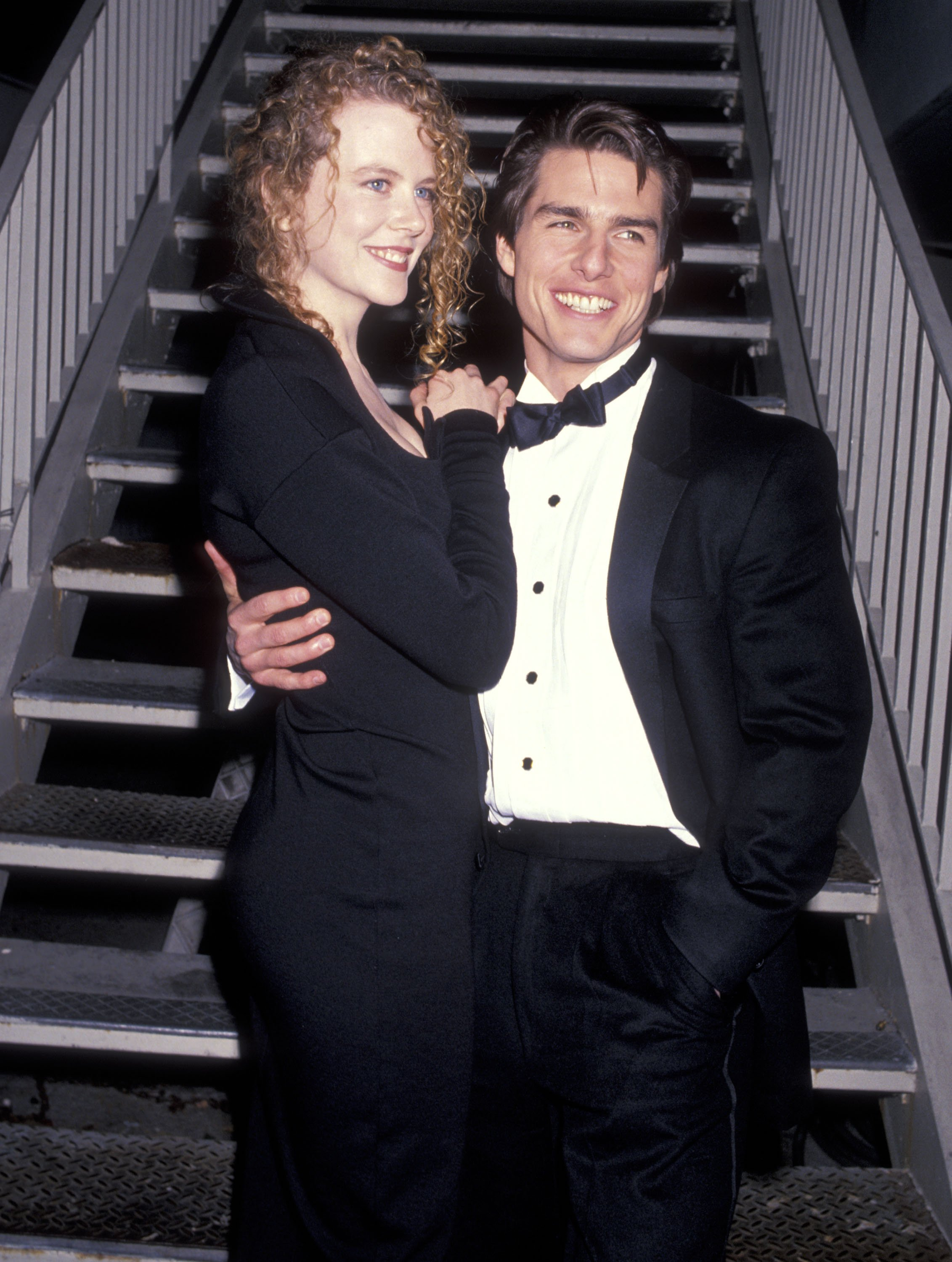 Nicole Kidman and actor Tom Cruise attend the 19th Annual American Film Institute (AFI) Lifetime Achievement Award Salute to Kirk Douglas on March 7, 1991 | Photo: Getty Images