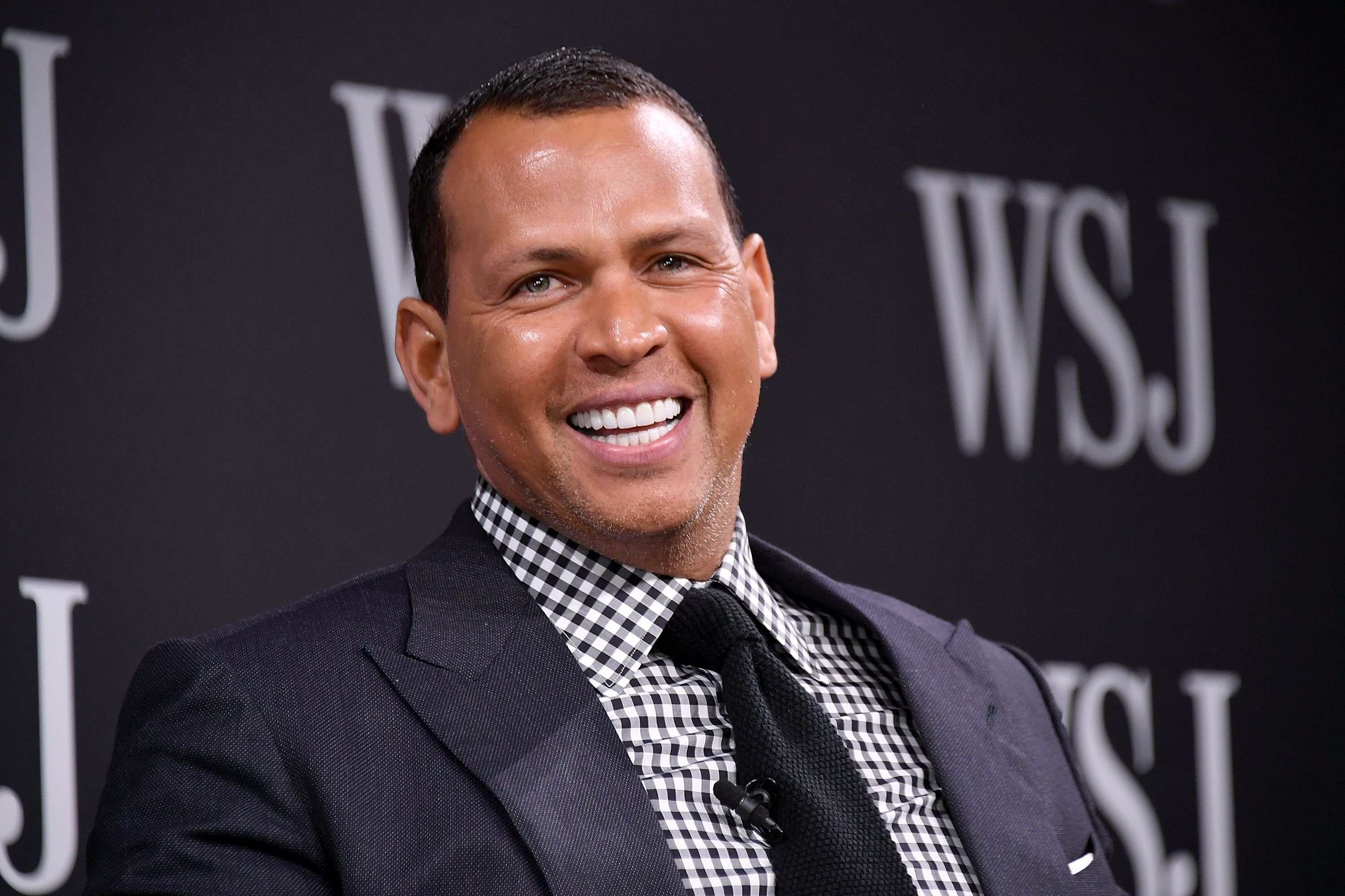 Sports commentator and former professional baseball player Alex Rodriguez takes part in a panel at WSJ's The Future of Everything Festival at Spring Studios on May 8, 2018 | Photo: Getty Images