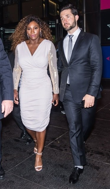Serena Williams and husband Alexis Ohanian attend a formal event together | Source: Getty Images/GlobalImagesUkraine