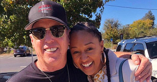 Tia Mowry from 'Sister, Sister' Shares Rare Photo with Her Dad and Fans Think They Look like Twins