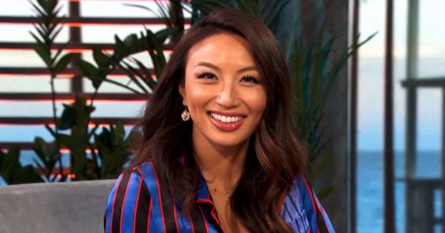 'The Real's Jeannie Mai Displays Enviable Legs in IG Snap Wearing an Oversized Checkered Shirt