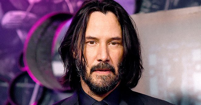 """Keanu Reeves at the """"John Wick"""" special screenings on May 03, 2019, in London, England   Source: Getty Images"""