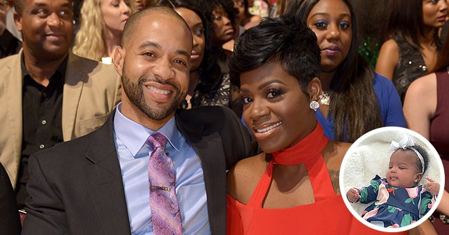 Fantasia Barrino with her husband, Kendall Taylor. Also pictured: their daughter Keziah | Photo: Getty Images | instagram.com/keziahlondontaylor