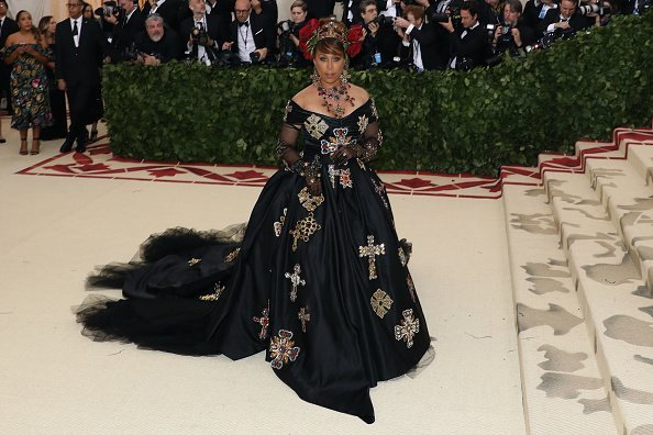 """Marjorie Harvey at the """"Heavenly Bodies: Fashion & the Catholic Imagination"""" on May 7, 2018   Photo: Getty Images"""
