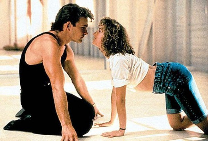 """Jennifer Grey and Patrick Swayze in 1987's """"Dirty Dancing"""" 