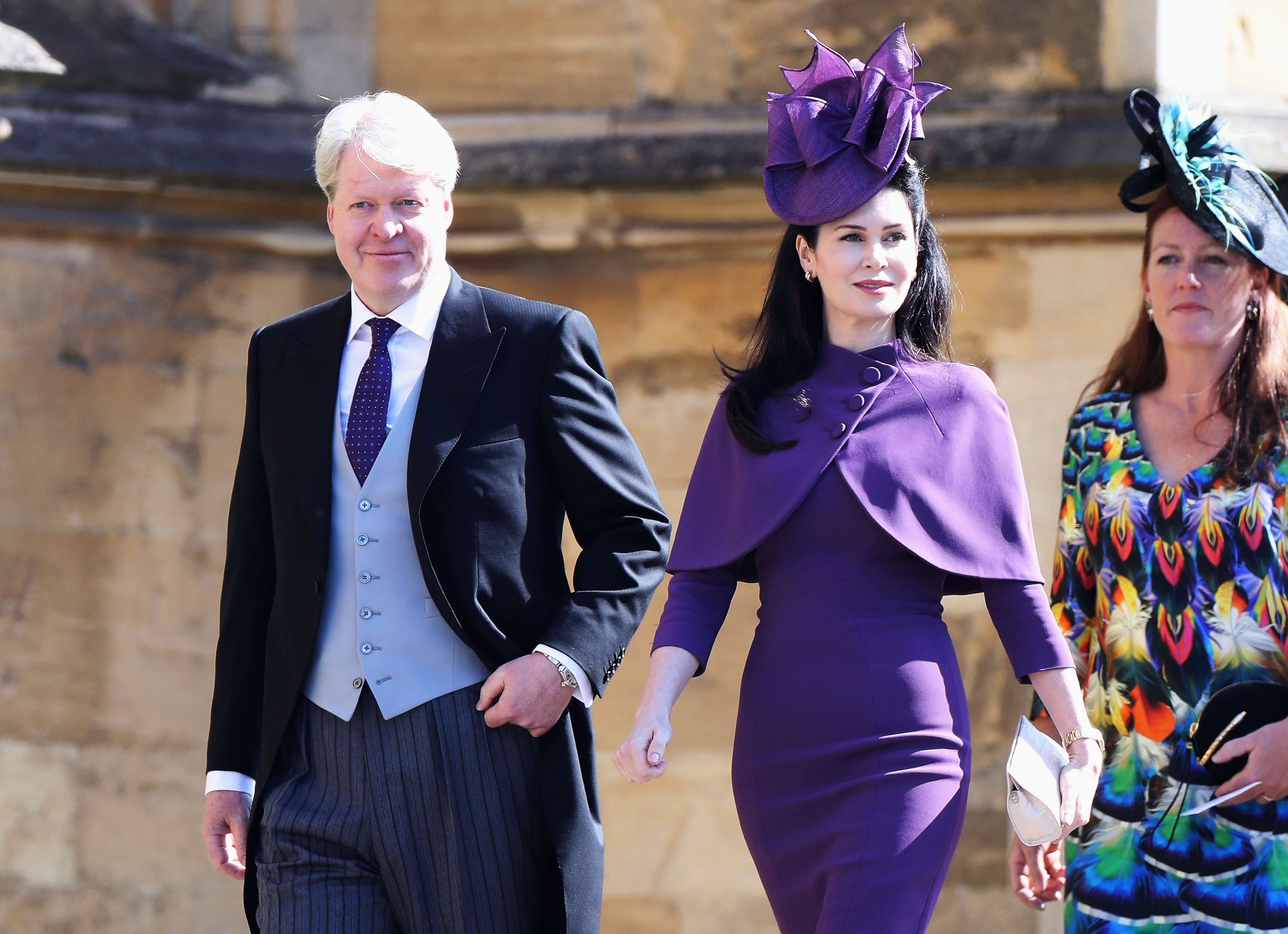 Charles and Karen Spencer attend the wedding of Meghan Markle and Prince Harry in Windsor, England on May 19, 2018 | Photo: Getty Images