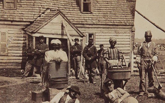 Slaves freed at the end of the Civil War | Source: Wikimedia Commons/ Public Domain