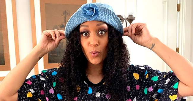 Tia Mowry Brings Back 'Sister, Sister' Nostalgia as She Wears Denim Hat & Matching Overalls