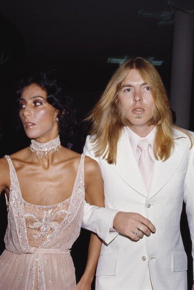 Cher and Gregg Allman in California, Los Angeles in 1978. | Photo: Getty Images