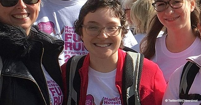 Junge Frau, die ihr 7kg schweres Herz im Rucksack trug, ist verstorben