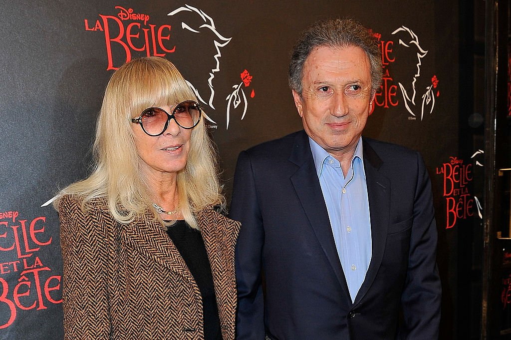 Dany Saval et Michel Drucker. | Photo : Getty Images