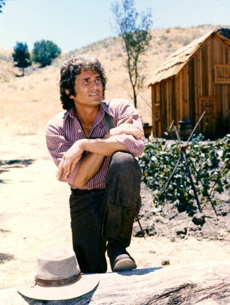 "Michael Landon in a portrait issued as publicity for the television series, ""Little House on the Prairie,"" circa 1974. 