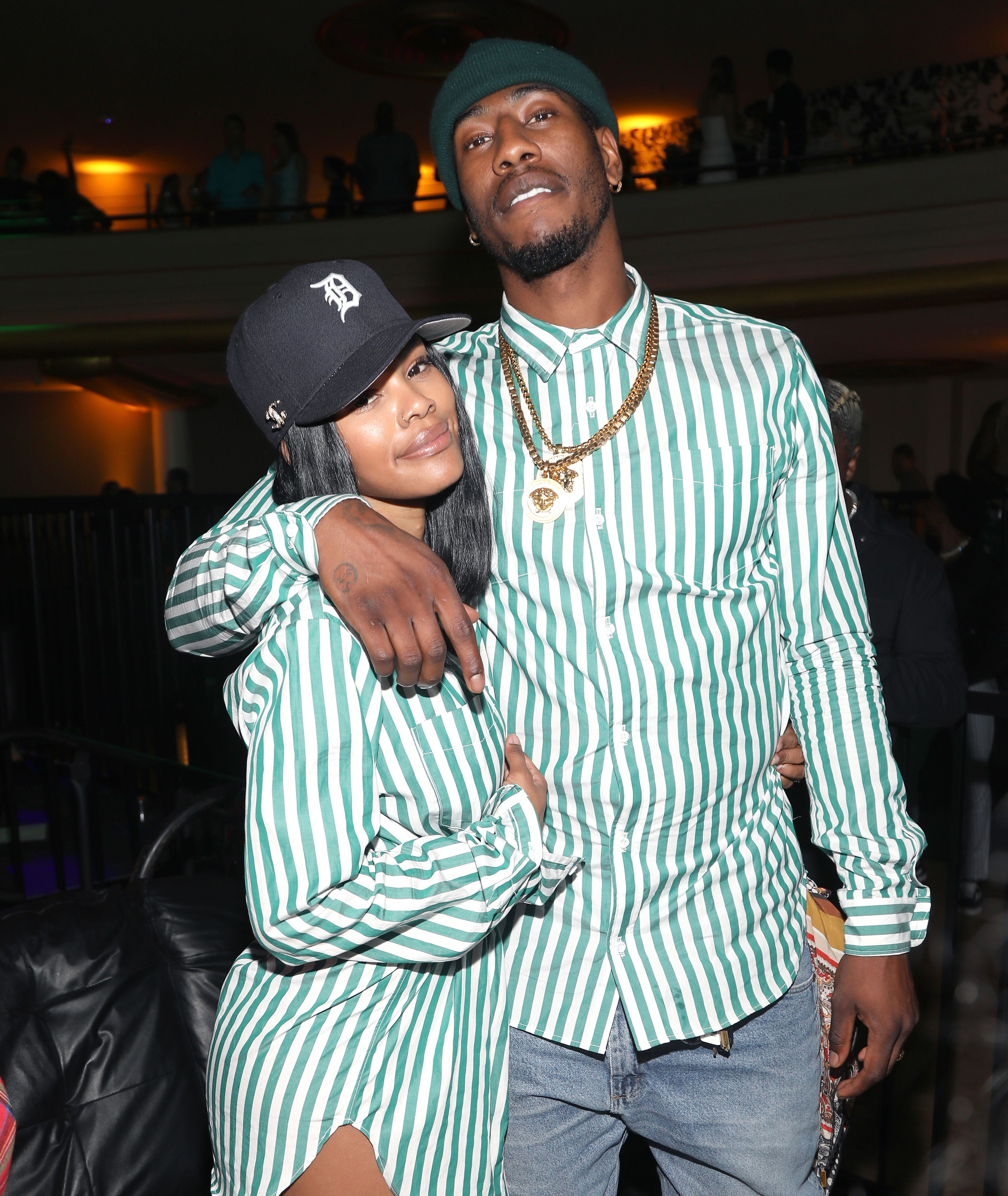 The proud parents of Baby Junie, Teyana Taylor and Iman Shumpert | Source: Getty Images/GlobalImagesUkraine