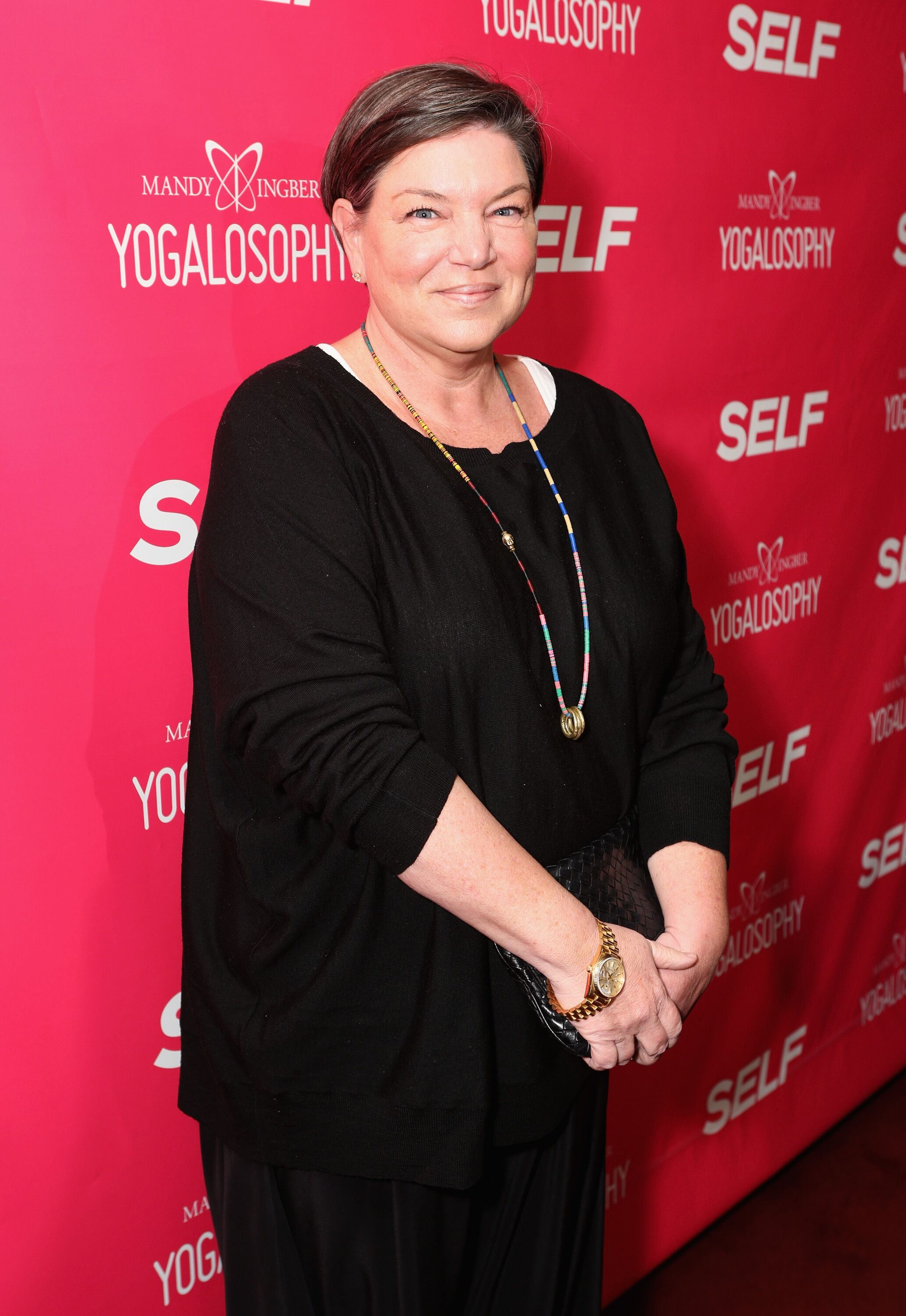 """Actress Mindy Cohn attends SELF Magazine and Jennifer Aniston's celebration of Mandy Ingber's new book """"Yogalosophy: 28 Days to the Ultimate Mind-Body Makeover"""" (Seal Press) on April 30, 2013 