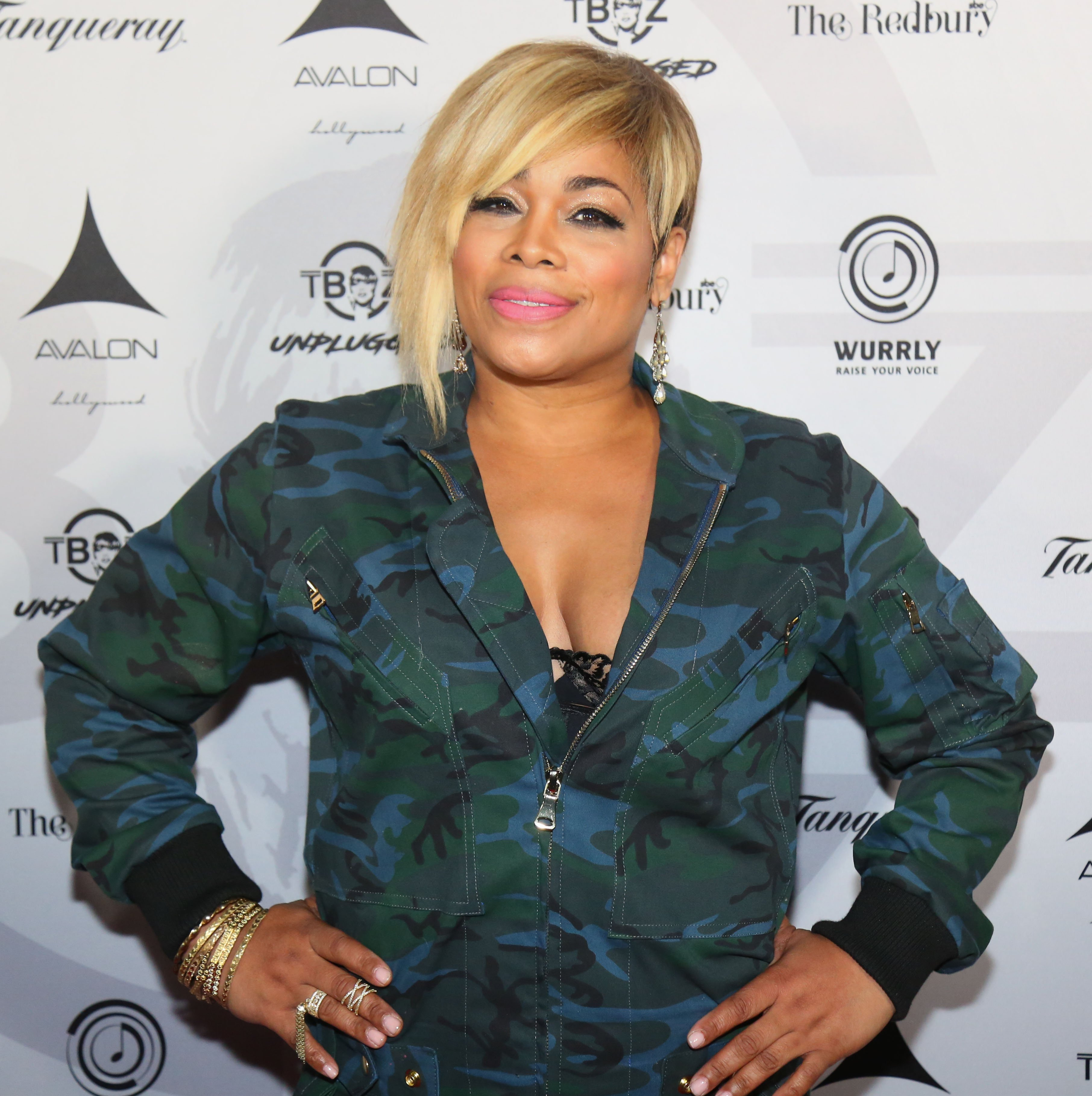 """Singer Tionne """"T-Boz"""" Watkins arrives at the T-Boz Unplugged Benefit Concert at Avalon on January 15, 2017.   Photo: Getty Images"""