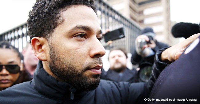 Jussie Smollett Returns to 'Empire' Set Hours after Posting $100K Bail