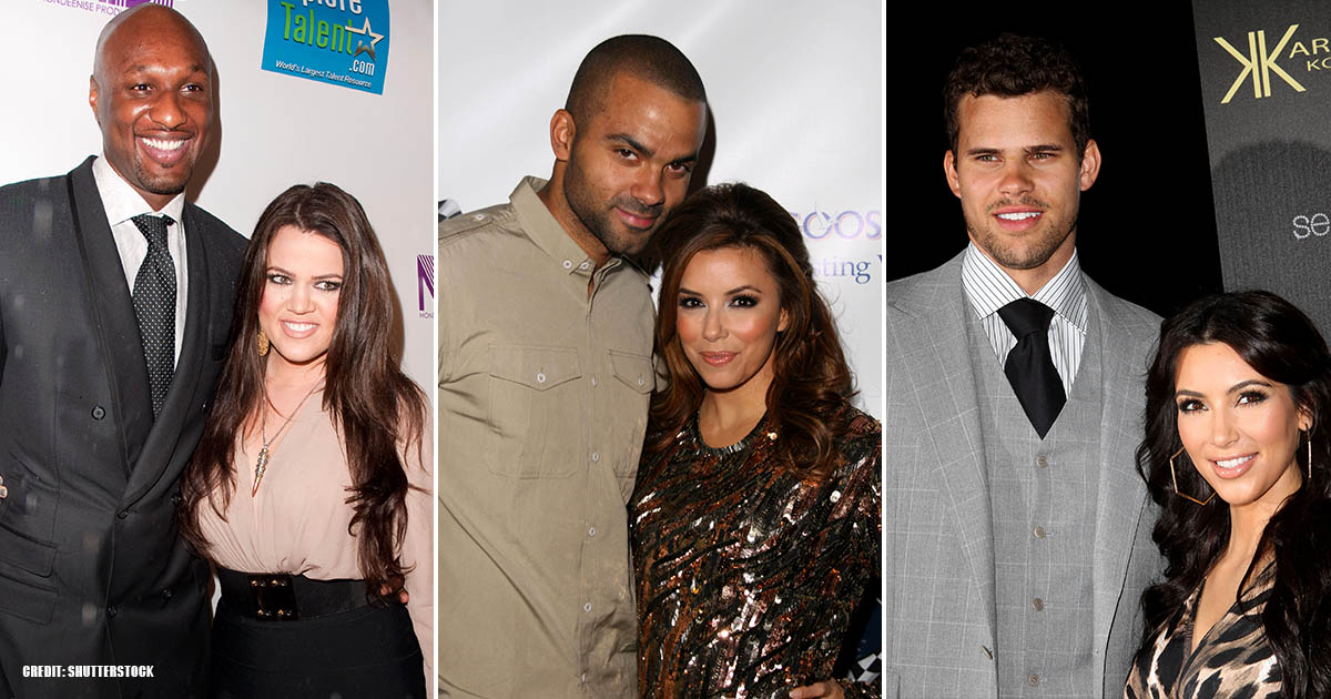 NBA Players Who Married Celebrities Even More Famous Than Themselves