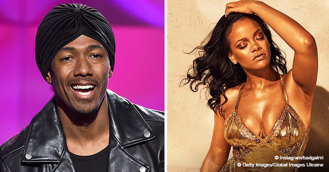 Nick Cannon Lusts over Rihanna's Perfect Body & Drops Thirsty Comment on Her Racy New Photos