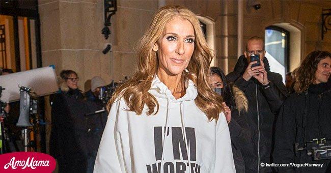Céline Dion fait une déclaration audacieuse avec son sweat à capuche oversize face aux critiques