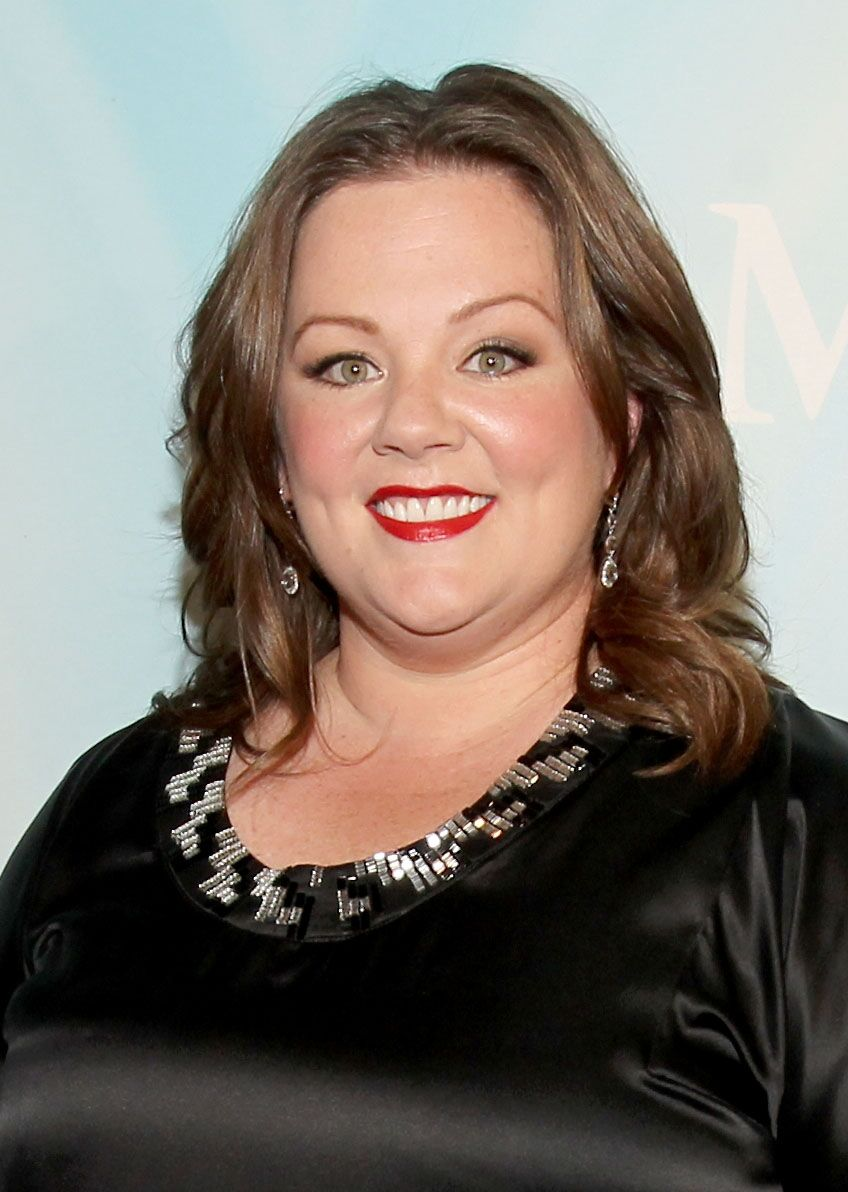 Melissa McCarthy arrives at the 2011 Women In Film Crystal + Lucy Awards. | Source: Getty Images