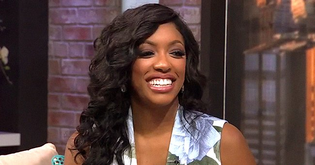 Porsha Williams' Daughter Pilar's Face Is Covered in Grease as She Poses in a Floral Onesie