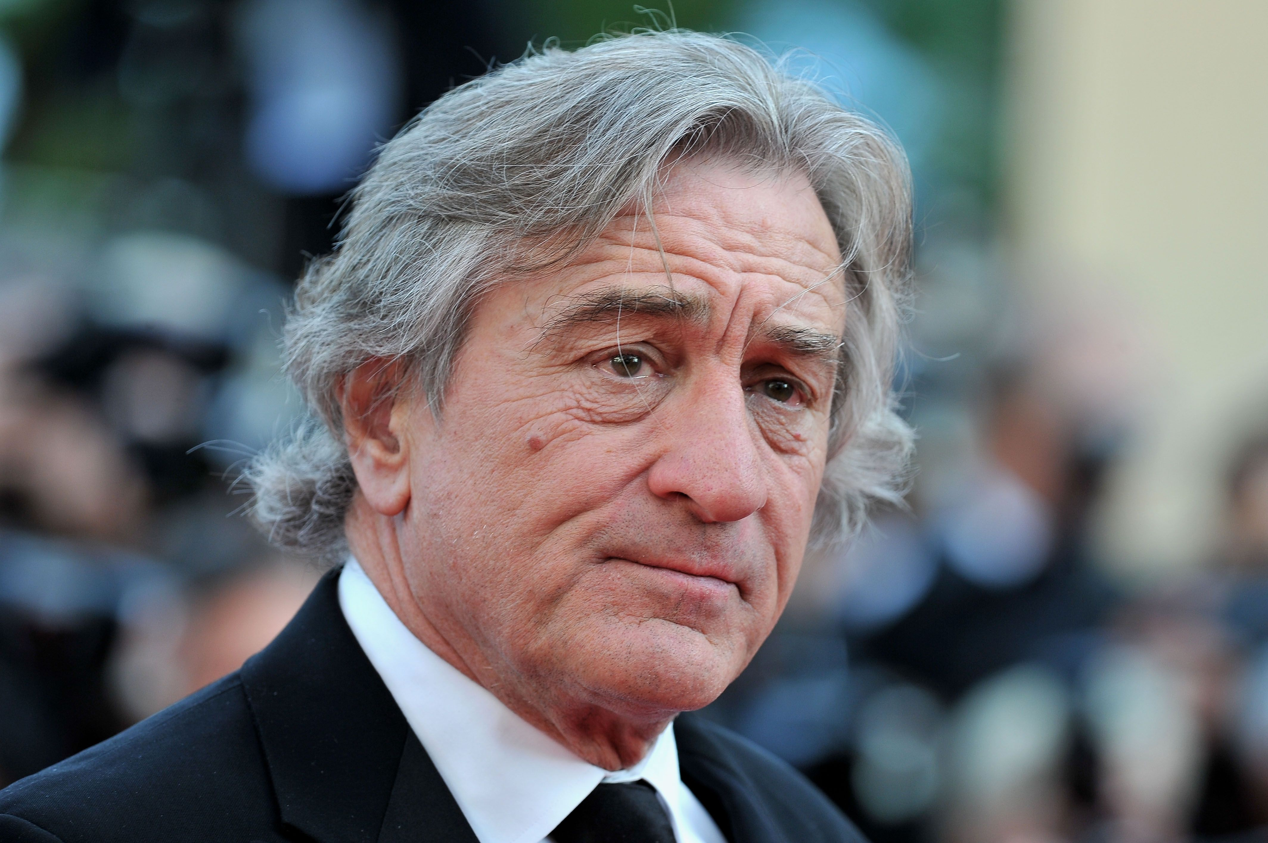 Robert De Niro attends the 'Once Upon A Time' Premiere during 65th Annual Cannes Film Festival during at Palais des Festivals on May 18, 2012 in Cannes, France. | Source: Getty Images