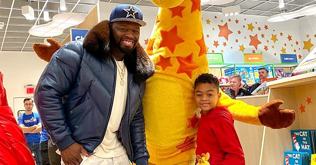 50 Cent Rents out Entire Toys 'R' Us Store for Son Sire's Surprise Christmas Shopping Spree