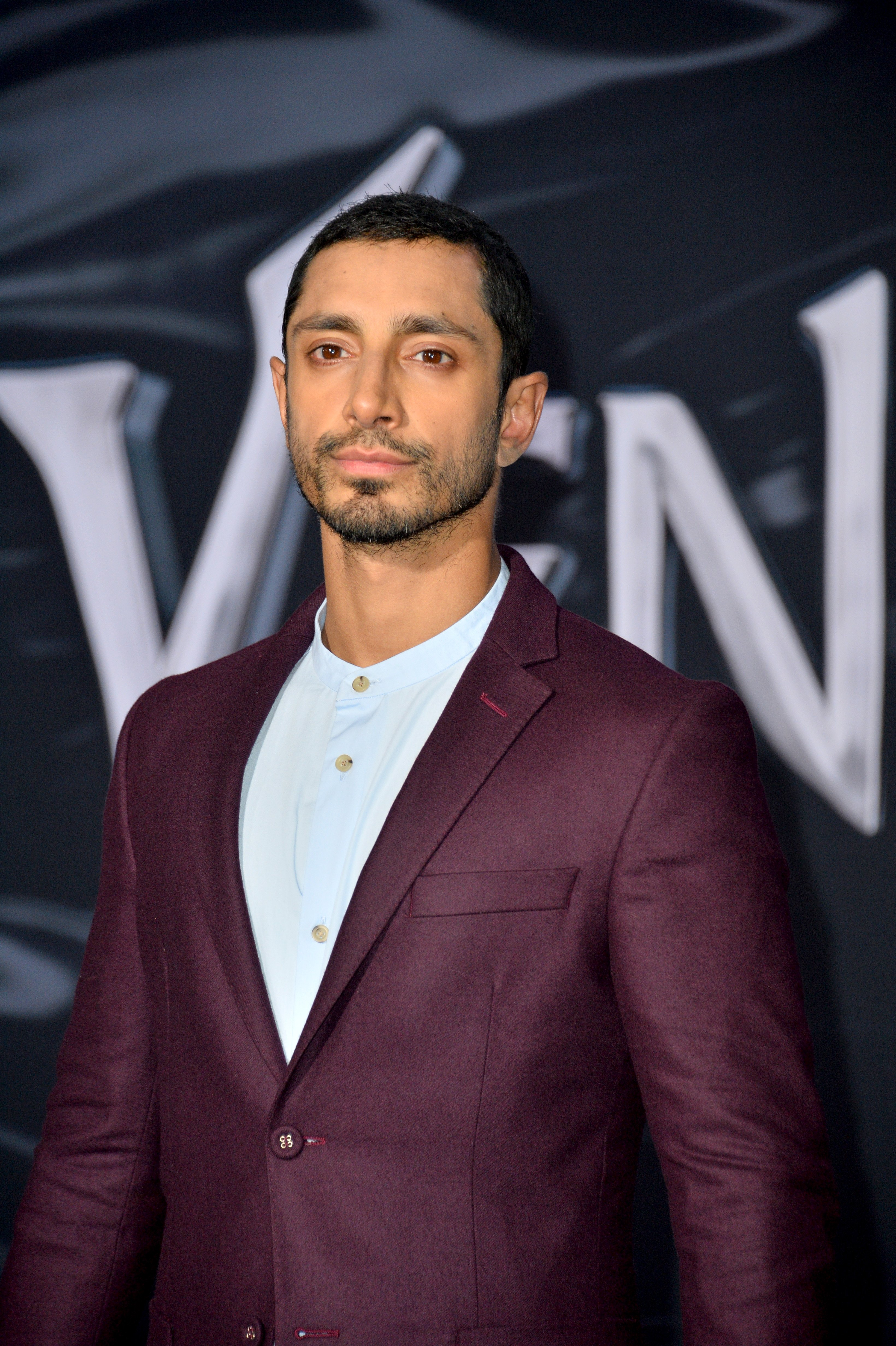 """Actor Riz Ahmed at the world premiere of """"Venom"""" at the Regency Village Theater on October 1, 2018 in Los Angeles   Photo: Shutterstock"""