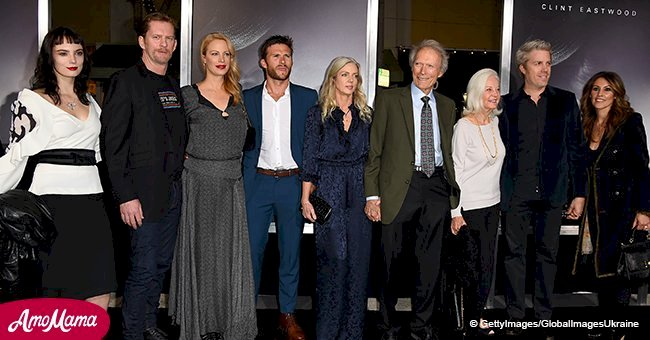 Clint Eastwood's seven kids from different women unite to support father's premiere
