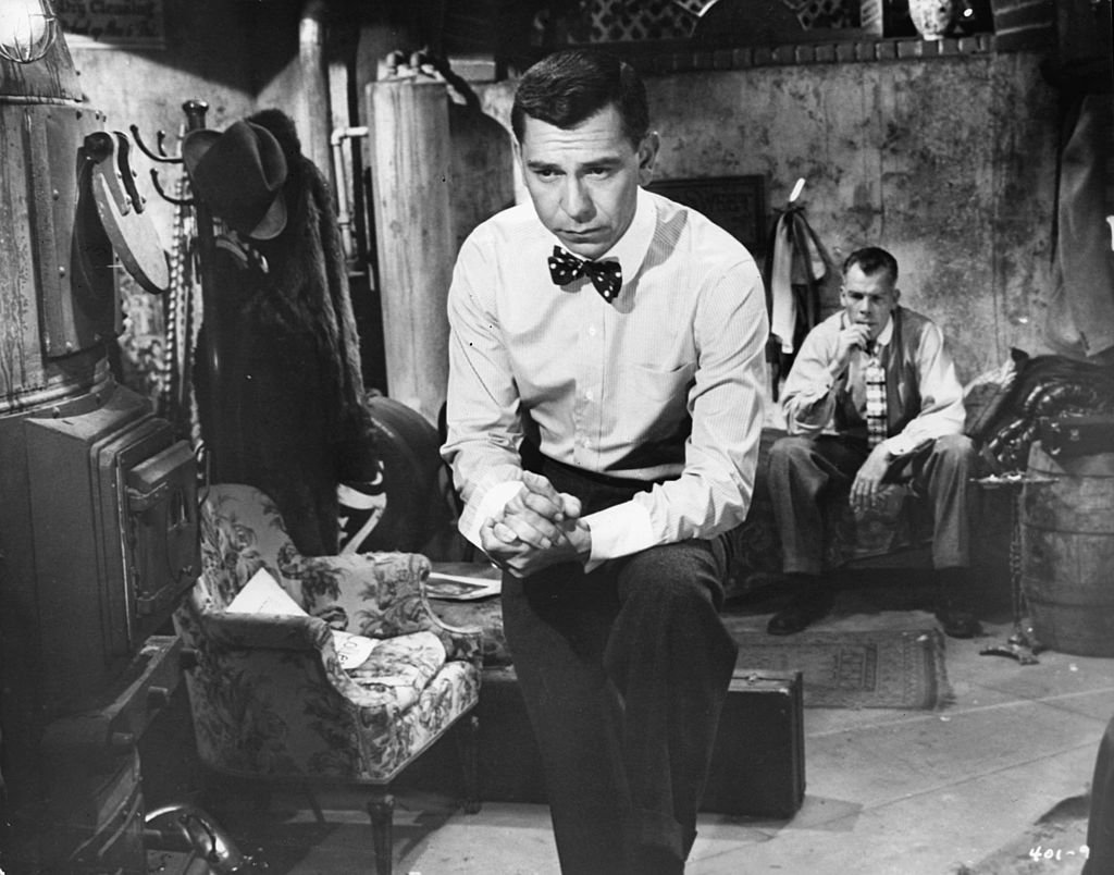 """Jack Webb in a scene from the film """"Pete Kelly's Blues"""" on January 01, 1955 