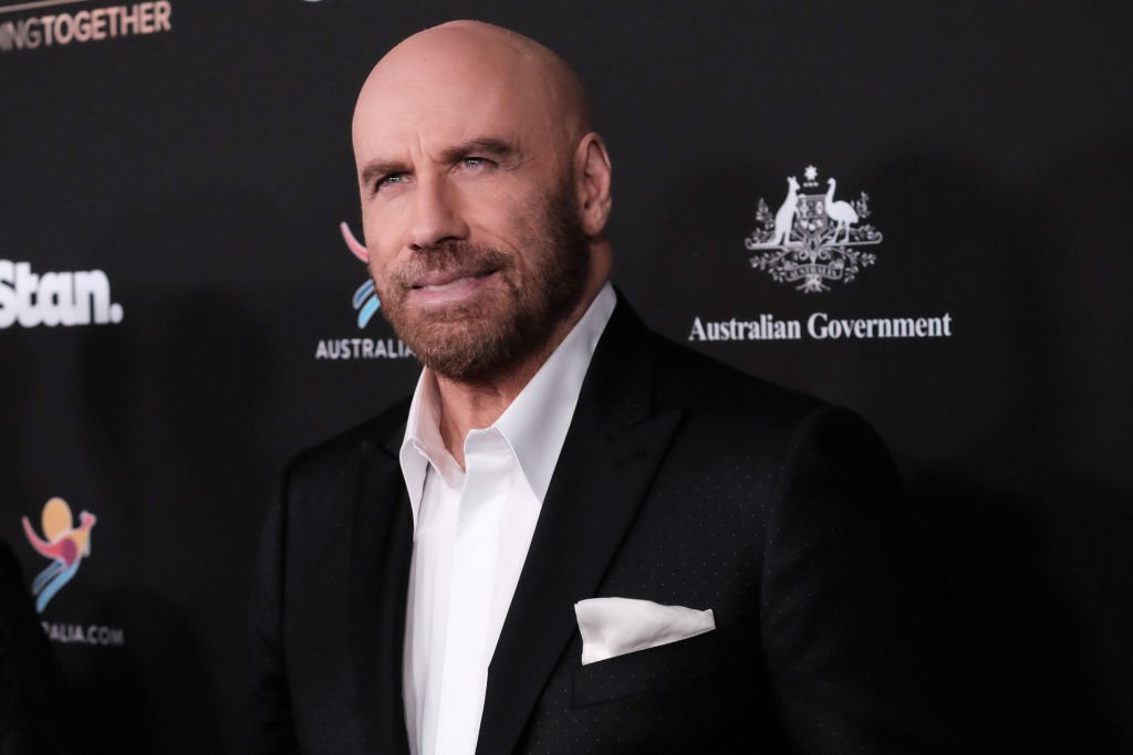 John Travolta attending the G'Day USA 2020 | Standing Together Dinner  Source | Photo: Getty Images