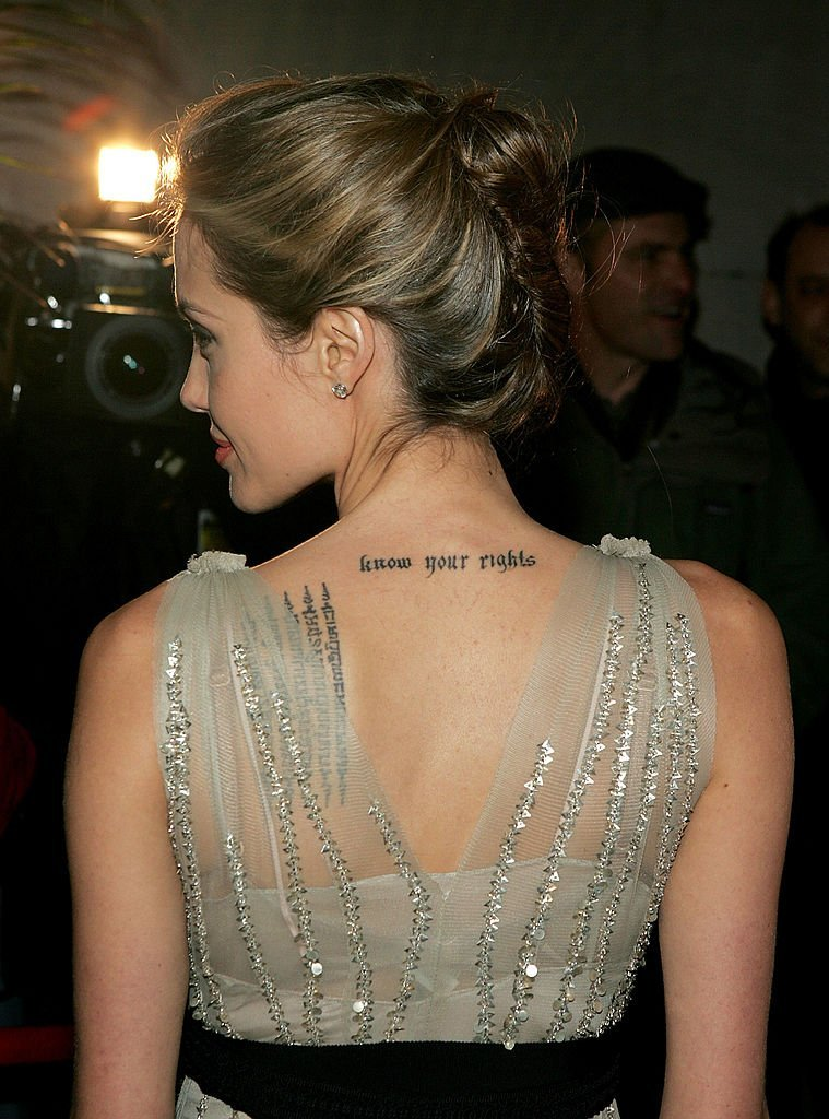 Angelina Jolie attend the Worldwide Orphans Foundation Gala in New York City on October 24, 2005 | Photo: Getty Images