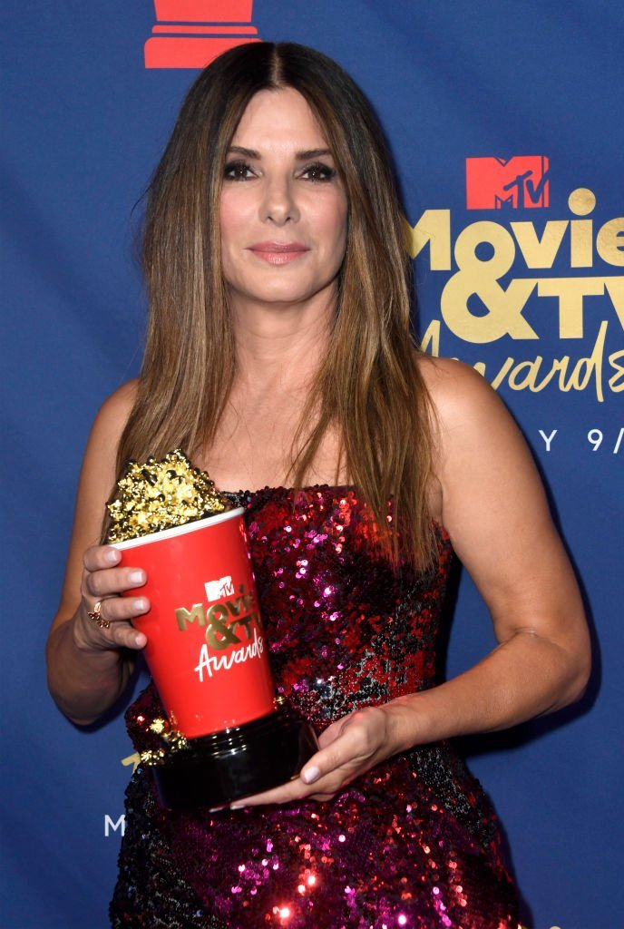 Sandra Bullock's wax figure makes New York debut in time for her 50th birthday at Madame Tussauds New York | Photo: Getty Images