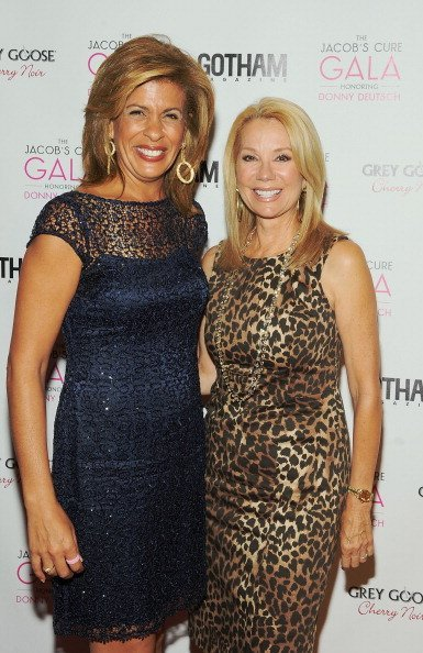 Hoda Kotb and Kathie Lee Gifford at Cipriani Wall Street on May 2, 2012 in New York City | Photo: Getty Images