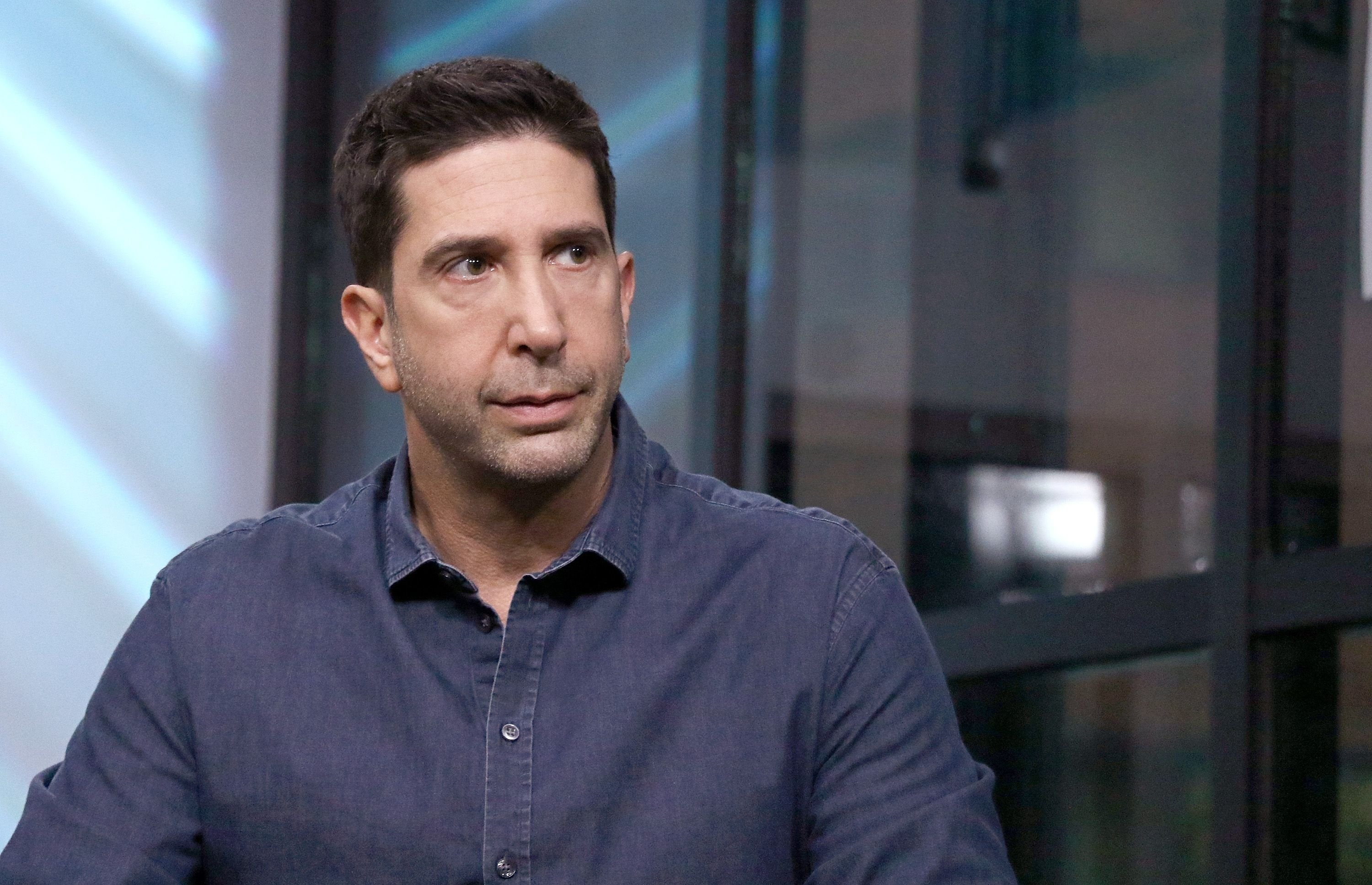 David Schwimmer at the Build Series discussion of #ThatsHarassment campaign in 2018 in New York City | Source: Getty Images